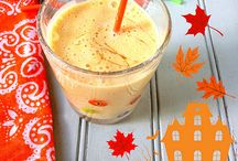 Pumpkin banana smoothie