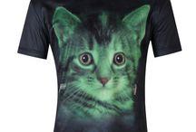 Cat Tea Shirts