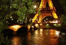 For The Love of Paris / I've always wanted to go to Paris with someone I love but it hasn't happened yet so I'll settle for going before I die! / by Christine Bode