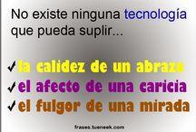 Frases Tecnologia / Frases relacionadas con la tecnologia