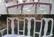 laweczka z krzeseł