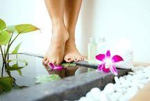 Смягчающая ванна для ног