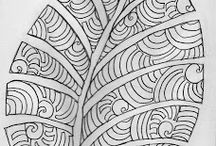 Zentangles and Penwork
