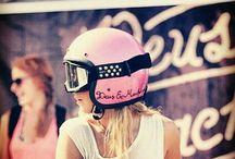 Biker girls style