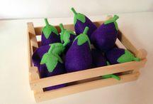 felt foods - eggplants
