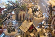 White Christmas / Elegáns karácsonyi dekoráció