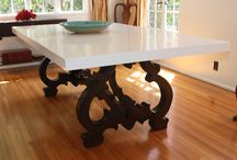 The dining room / consoles, dining tables, dining chairs
