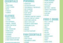 Camping checklists