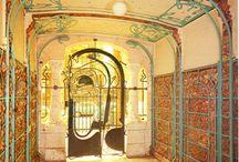 Puertas art Nouveau