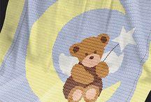 crochet deky