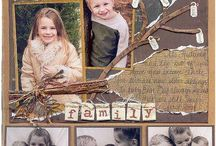 family scrapbooking