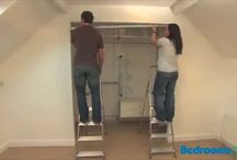 Bedroom Wardrobe DIY - Video guides / This board offers a collection of video guides on creating your own bedroom wardrobe quickly and easily. These easy to assemble drawers, shelves, hanging rails & more can be ordered online, delivered in 21 days and installed easily as a fitted bedroom wardrobe.