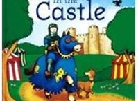 castle, knights, dragons and princesses
