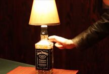 Lâmpadas de garrafa