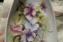 Dorthes håndmalede porcelæn