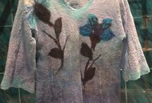 Appassionatamente - moje filcowane ubrania, my felted clothes, i miei vestiti in feltro
