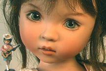 dolls / porcelain