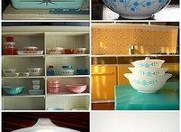 Vintage dishes  / by Kristie Wenzrel