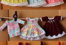 CROCHED DOLL CLOTHES