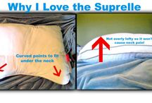 Bedding and Pillows for Better Sleep / Sleep better with the proper pillows and bedding.