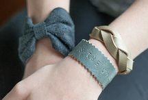 Lederen armband DIY