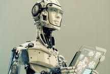 ROBOT HORIZON / Bibliothèque de robots anciens ou moderne, ...Vont-ils prendre le pouvoir ? a suivre :-)