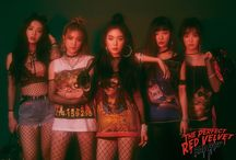 Red Velvet - Bad Boy / Hey, check out my Peek-a-boo board too!