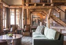Деревянный дом интерьеры