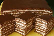 торты,пирожные / торты / by Galina Baranova