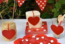Platos de cartón para fiestas