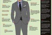 Men's Fashion  / by Kari Ann Linn