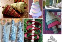 поделки на Новый год/crafts for the New Year / dolls, ornaments, wreaths for New Year