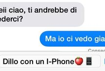Dillo con un iPhone