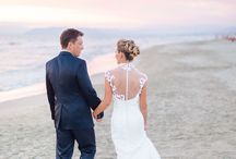 I DOs with a View / Our destination wedding inspiration board for romantic wedding by the sea!
