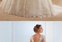 Wedding dresses - Long sleeves