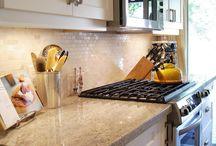 Kitchen Counter & Tile