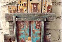 drevene domčeky