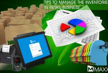 Tips to manage inventories in Retail Business / - Managers need to be the part of the process of ordering the new inventory - Keep as much product on the sales floor as possible...http://maxxerp.blogspot.in/2013/12/tips-to-manage-inventories-in-retail.html