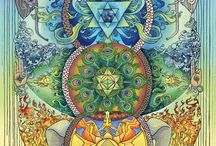 VISIONARY, psychedelic, spiritual and Fantasy ART and quotes. Ascension and Sacred geometry. / No words to describe this, you can only experience, how it resonates with your inner Being. We are not humans having a cosmos experience. We are the cosmos having a human experience. ... I Am without form, without limit, beyond Space, beyond Time, I am in Everything, Everything is in Me, I am the Bless of the Universe, Everywhere I Am...  ✣ Swami Rama Tirtha