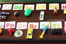 Homeschool - Preschool language activities