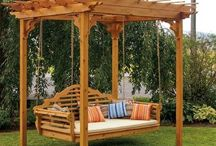 Pergola, gazebo, and garden seating ideas.
