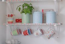 colourful spring home decor