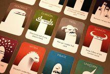 card, board games