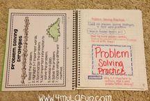 school.interactive notebooks / by Megan George