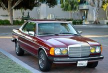 MERCEDES W123 / Der wohl beste und schönste Wagen,den Mercedes jemals gebaut hat.Eine rollende Stilikone als Limo,Coupe oder Kombi. Wer so einen Wagen noch fährt,der liebt ihn.
