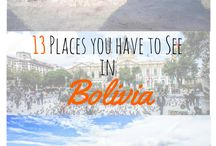 Bolivia Travel / Travel tips, trip guides, photos and itineraries to inspire your adventure to Bolivia.