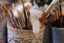 """Oui j'ai un tableau """"chats"""", et alors ?"""
