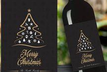 Karácsonyi címkék