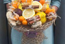 Buchete cu fructe si legume