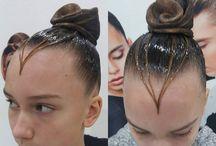 Причёски бальные